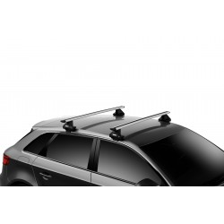Thule dakdragers aluminium Volvo S60 4-dr Sedan (Cross Country) 2015-2018 met glad dak